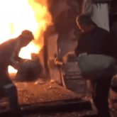 Вторую по объему в мировой истории партию героина сожгли в Алматы
