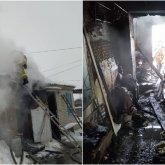 Инвалид погиб при пожаре в Костанайской области