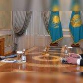 Бердибек Сапарбаев рассказал Касым-Жомарту Токаеву о положении дел в Кордайском районе