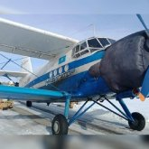 Самолет приземлился на автодорогу в ВКО