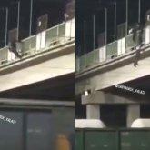 «Приди в себя». Парень пытался спрыгнуть с моста в Туркестанской области