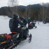 Снежная лавина накрыла туриста в ВКО