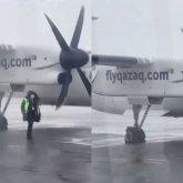 «Ощутил рывок в правую сторону»: пилот рассказал об инциденте с самолетом Qazaq Air