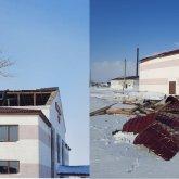 Крышу Дома культуры сорвало в Акмолинской области