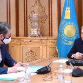 Исекешев доложил Назарбаеву о разработке мероприятий по реализации Стратегии нацбезопасности