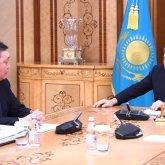 Аскар Мамин проинформировал Нурсултана Назарбаева о реализации предвыборной программы Nur Otan