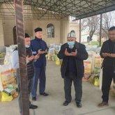 Меценат-нуротановец раздал продукты 100 туркестанским семьям