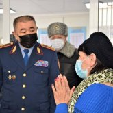 Ерлан Тургумбаев: Граждане чувствуют позитивные изменения в системе органов внутренних дел