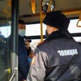 Пассажиров без масок будут высаживать и не впускать в автобусы в Алматы