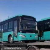 Китайские автобусы за 40 миллионов тенге не проездили и трех месяцев в Петропавловске