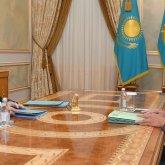 Касым-Жомарту Токаеву рассказали о состоянии валовых международных резервов