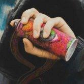 Двое парней рисовали граффити с рекламой наркотиков в Мангистауской области