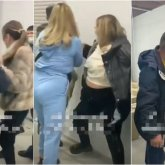 Потасовка «помогаек» с охранниками в алматинском СпецЦОНе попала на видео