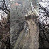 Оползень сошел в Алматы