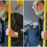«У меня все наверху работают. Че там?»: конфликт казахстанцев в автобусепопал на видео