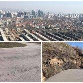 Оползень может сойти на элитный район в Алматы