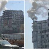 «Печку затопили»: стали известны причины густого дыма из трубы многоэтажки в Алматы