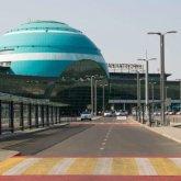 Для встречающих и провожающих ограничили вход в аэропорт Нур-Султана