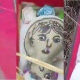Кукла с фотографией женщины в мини-гробу: полицейские нашли предполагаемую шаманку