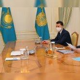 Президент принял автора проекта Qazaq Republic