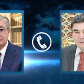 Гурбангулы Бердымухамедов пригласил Касым-Жомарта Токаева в Туркменистан