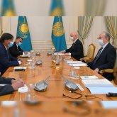 Глава ArcelorMittal доложил Токаеву о планах по сокращению выбросов в атмосферу на 30%