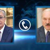 Касым-Жомарт Токаев и Александр Лукашенко «сверили часы»