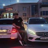 Иманбек похвастался своим новым автомобилем