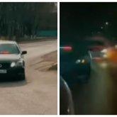 Парни на автомобилях устроили беспредел на дорогах в Алматинской области