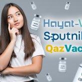 QazVac, Спутник V, Hayat-Vax: какую вакцину выбрать?