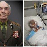Врачи растрогали до слез ветерана ВОВ, встречающего из-за коронавируса День Победы в реанимации