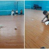 Атырауские учителя доделывали капитальный ремонт в школе