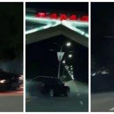 Наказали водителя, устроившего сумасшедший дрифт на въезде в Тараз