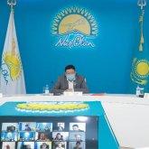 На площадке Nur Otan обсудили развитие местного самоуправления