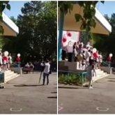 Упавшая в обморок выпускница из Петропавловска стала звездой TikTok