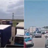 Дальнобойщики Казахстана протестуют против введения платных дорог