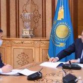 Елбасы принял председателя Агентства по противодействию коррупции Марата Ахметжанова