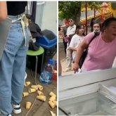 «Не было сдачи с 10 тысяч»: астанчанка набросилась на продавщицу мороженого