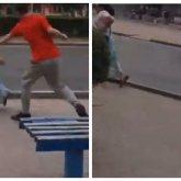 Агрессивный мужчина кидался на прохожих в Усть-Каменогорске