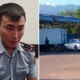«От ответственности не убегаю»: совершивший смертельное ДТП алматинский полицейский сделал заявление