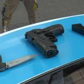 Вооруженный пистолетом мужчина напугал алматинцев
