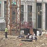 Рабочий разбился насмерть на стройке в Алматы