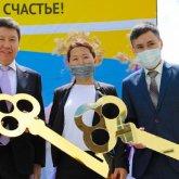 Сотрудники Агентства «Хабар» получили квартиры в честь Дня работников СМИ