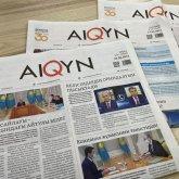 Главный редактор газеты Aiqyn – обладатель гранта Президента