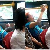 Беременная женщина пила пиво в автобусе и возмутила этим казахстанцев
