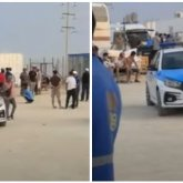 Конфликт между рабочими с участием иностранцев попал на видео в Актау