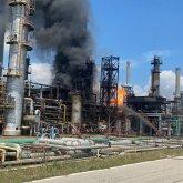 Пожар охватил завод «КазМунайГаза» в Румынии, есть погибший