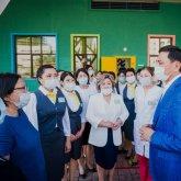В преддверии Дня столицы в Нур-Султане открыли детсад и школу для детей с нарушением зрения