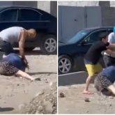 Мужчина схватил жену за волосы и волок ее по земле в Алматы