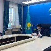 Руководитель столичной фракции «Nur Otan» в маслихате отчитался о проделанной работе